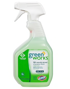 Green Works All Purpose Cleaner Spray, 32 Ounces (00456)