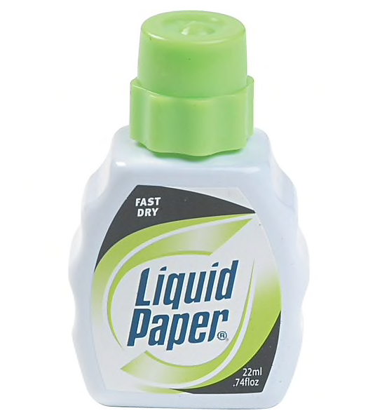 Paper Mate Liquid Paper Fast Dry Correction Fluid, 22 ml