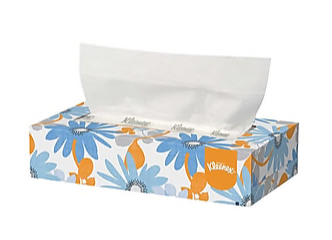 Kleenex Standard Facial Tissues, 2-Ply, 100 Sheets/Box, 36 Boxes/Pack (21400)