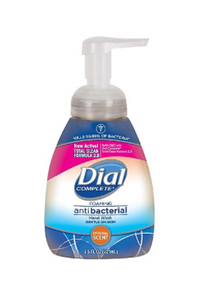 Dial® Complete® Antibacterial Foaming Hand Wash, Original Scent, 7.5 oz. Pump Bottle, 8 Count