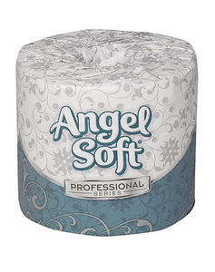 Angel Soft Professional Series 2-Ply Standard Toilet Paper, White, 450 Sheets/Roll, 40 Rolls/Carton