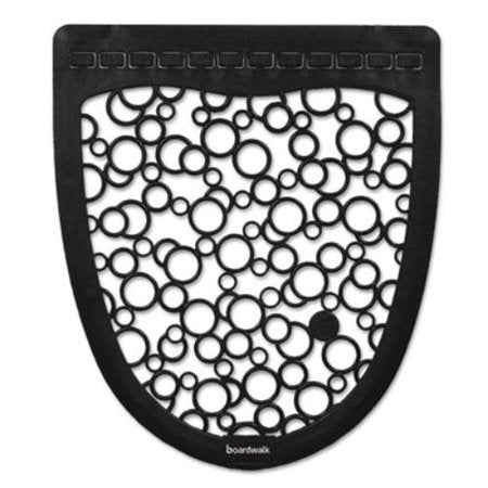 Boardwalk Urinal Mat 2.0, Rubber, 17 1/2 X 20, Black/white, 6/carton