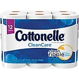 Kleenex® Cottonelle® CleanCare® Toilet Paper, 1-Ply, 150 Sheets/Roll, 12 Big Rolls/Pack ***Backordered until: Tuesday, Apr 07, 2020***