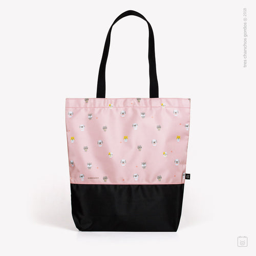 Bolso rosado Cats & Dogs
