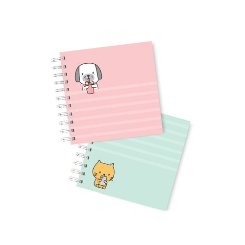 Cuaderno bullet Cats & Dogs