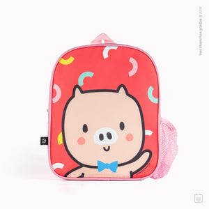 Mochila Happy - Chancho rosado