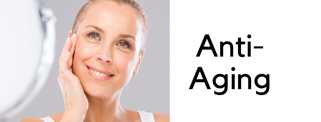 anti aging products to reduce wrinkles, lines and the affects of age
