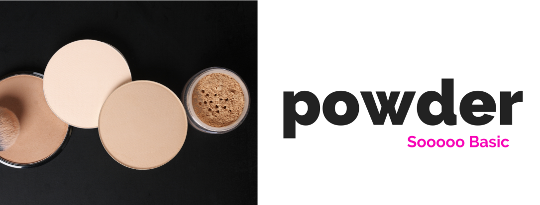 Facial powder can be used to set your foundation in place or alone as your foundation. It helps to minimize oil and shine.