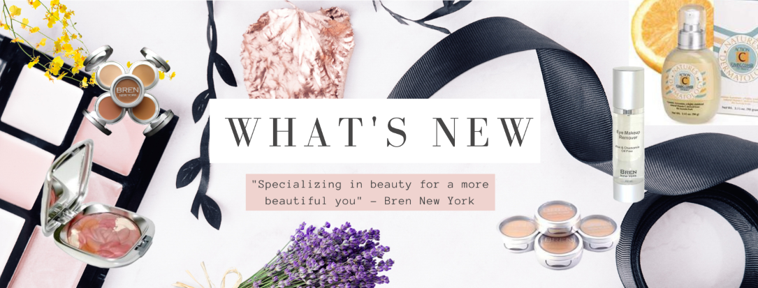 Here's what's new at Bren New York, the latest in skin care and makeup includes special treatments and superior color combinations