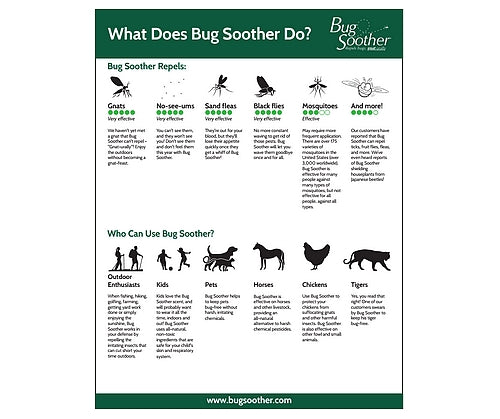 what is bug soother used for