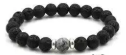 Lava Bead Diffuser Jewelry- Grey