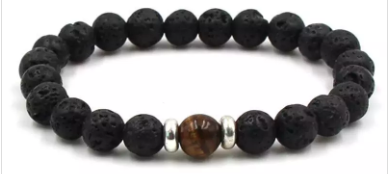 Lava Bead Diffuser Jewelry- Brown