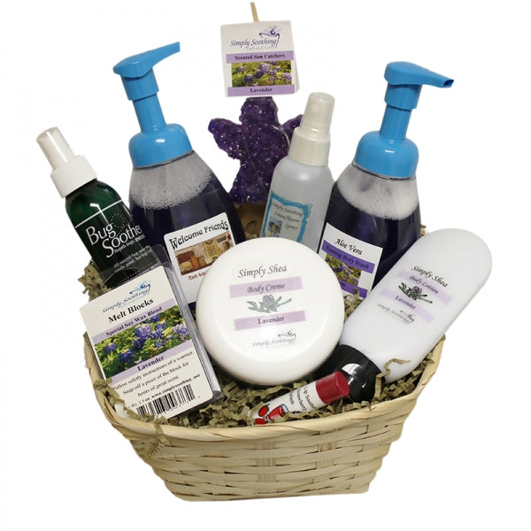 Large Simply Soothing Basket