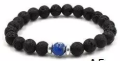 Lava Bead Diffuser Jewelry- Royal Blue