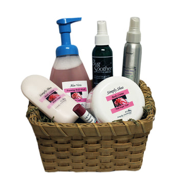 Silky Body Simply Soothing Basket