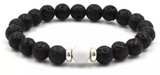 Lava Bead Diffuser Jewelry- White