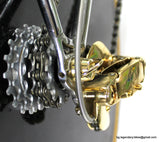 Luxury Paletti Ghibli Crono Equilateral style Campagnolo CRecord 1st gen Vintage Race Bike
