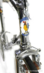 Vintage RACE BIKE EROICA CHROMED GALMOZZI 60S CAMPAGNOLO RECORD