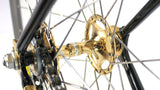 Vintage LUXURY TRACK BIKE COLNAGO ESAMEXICO GOLD PLATED