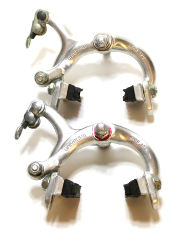 Vintage Race Bike road racing UNIVERSAL 125 Brake Calipers Clips Made in Italy Short reach