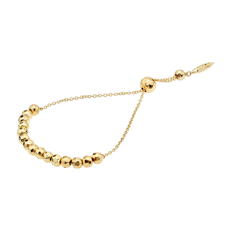 Laguna Large Adjustable Gold Bracelet
