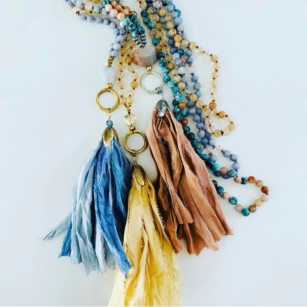 OM Made Tassel Malas