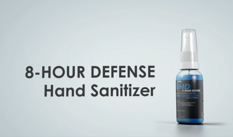 8-Hour Defense Hand Sanitizer