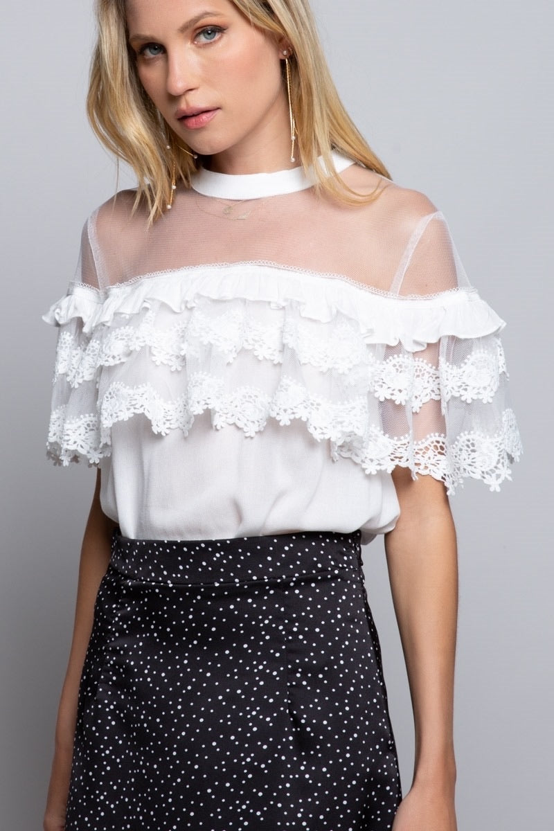 Loved in Lace Top