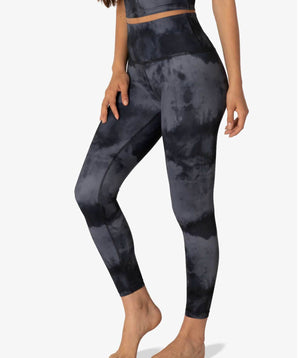 Beyond Yoga Luxe Gray Smoke Leggings