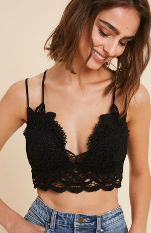 Wish Crochet Bralette