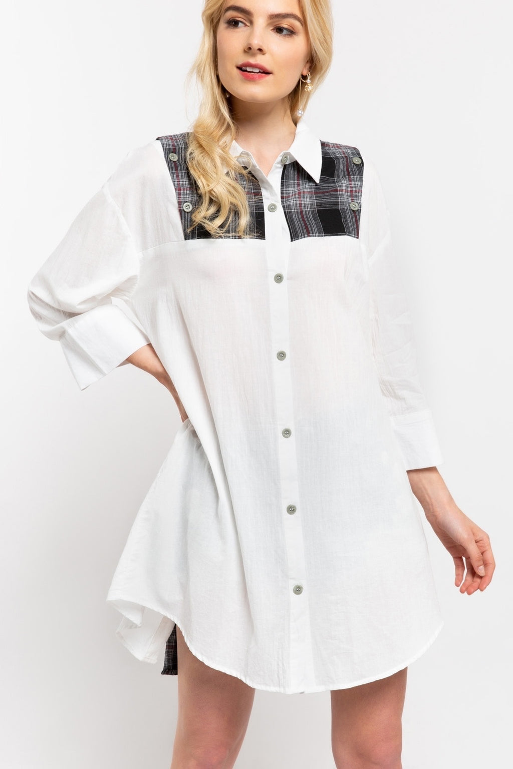 Buttoned Up Tunic