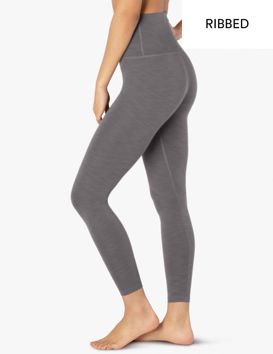 Beyond Yoga Heather Rib Legging
