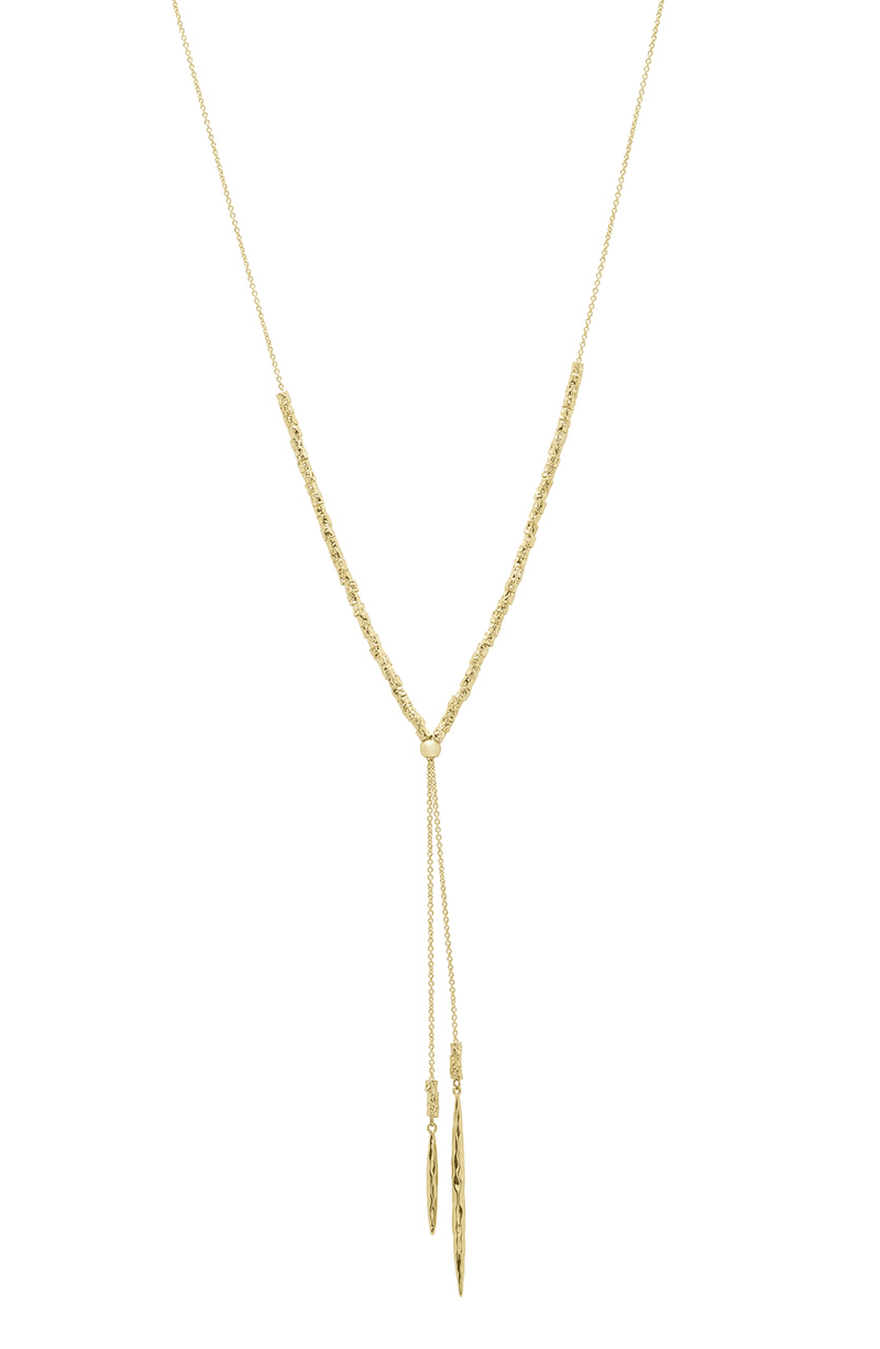 Laguna Adjustable Gold Necklace