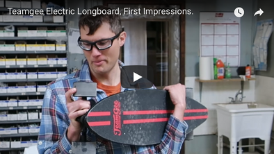 Longboard Technology First Impression Video on Teamgee Skateboard