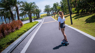 "Do you know what does the first ""electric skateboard"" look like?- by Teamgee"