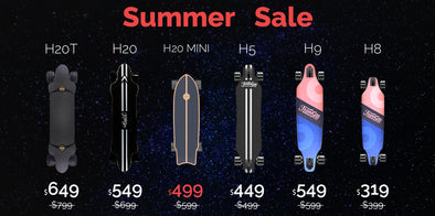 Teamgee Summer Sale 2020 - Up To $150 Off Electric Skateboards