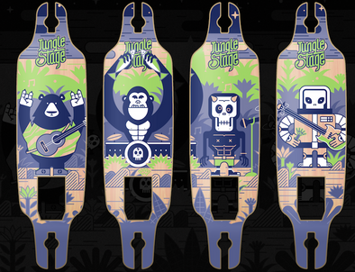 2018 Teamgee Electric Skateboard Graphic Design Contest