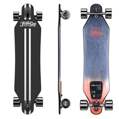 Teamgee H5 Blade Electric Skateboard With Drop Through Deck | The Thinnest E-board ($50 Off Code: H5SALE50)