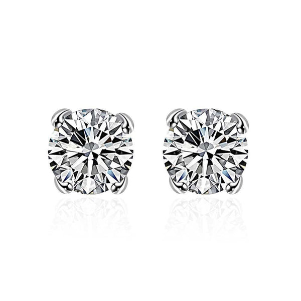 Swarovski Crystal Diamond Cut Earrings