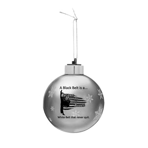 Martial Arts Light Up Ornament