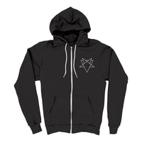 SLVYVLL MId-Weight Zip Up Hoodie