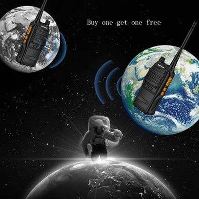 Nationwide public network interphone adopts MA800MHZ military transmission channel, and free for life as if to have a free phone forever