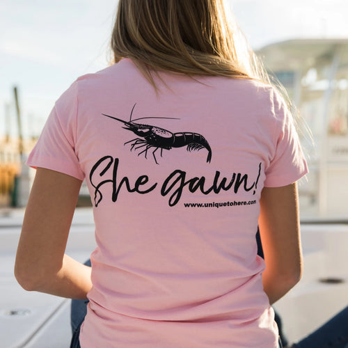 Women's She Gawn Short Sleeved T Shirts (Clearance)