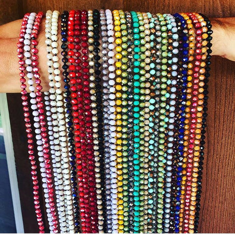 "60"" Beaded Necklaces"