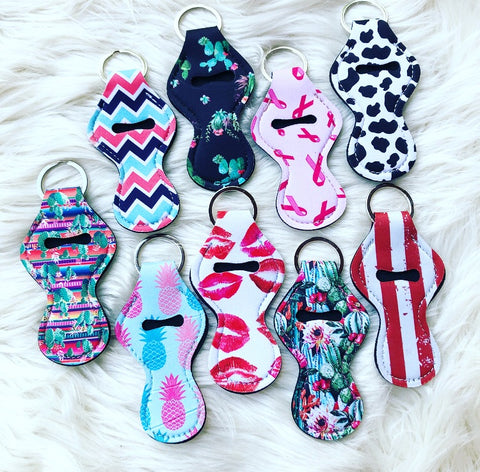 Lippie Keychain Holders
