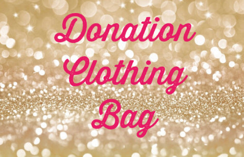 Donation Clothing Bag