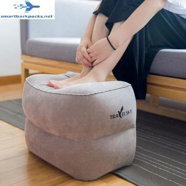 Inflatable Folding Footrest Pillow - For Home or Traveling