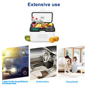12L PORTABLE CAR MINI REFRIGERATOR