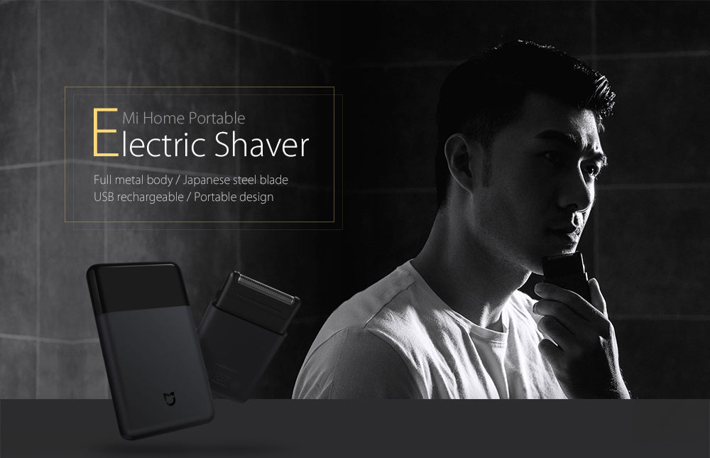 Wireless and Portable Mini Electric Shaver for Men