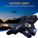 Outdoor LED Flashlight Glove